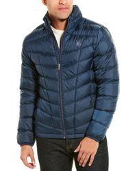 Spyder Down Puffer Jacket - Blue