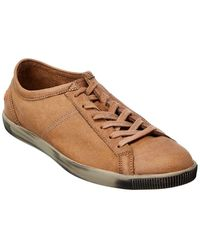 Softinos Softinos By Fly London Tom Leather Trainer - Brown