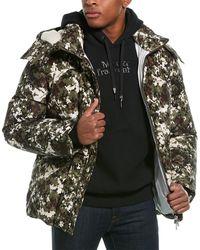 Moncler Blanc Puffer Jacket - Green