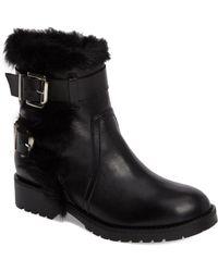Charles David - Reno Faux Fur Boots - Lyst