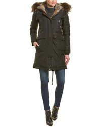 Nicole Benisti - Brera Leather-trim Down Coat - Lyst