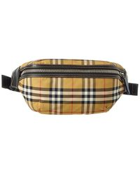 Burberry Medium Bum Vintage Check Canvas & Leather Belt Bag - Multicolour