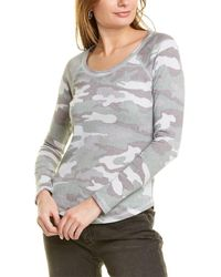 Lucky Brand Camo Burnout Thermal - Grey