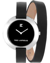 Ted Lapidus Women's Classic Watch - Black