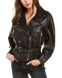 IRO Ikem Leather Jacket - Black