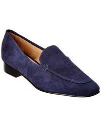 Schutz Shania Suede Loafer - Blue