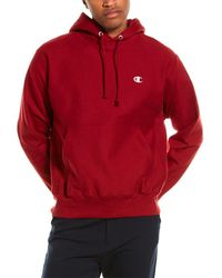 Champion Reverse Weave Hoodie - Red