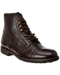 Dolce & Gabbana Milano Leather Boot - Brown