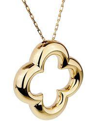 Van Cleef & Arpels Vintage Van Cleef & Arpels 18k Alhambra Necklace - Metallic