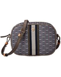 Tory Burch Gemini Link Canvas Mini Bag - Multicolour