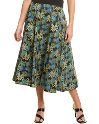 Petersyn Bailey Midi Skirt - Green