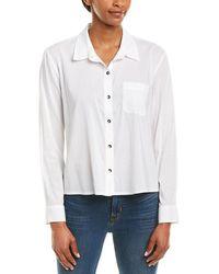 Splendid Button-up Shirt - White