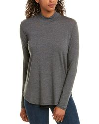 Velvet By Graham & Spencer Biba Top - Grey