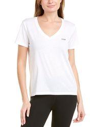Lolë Daily V-neck T-shirt - White