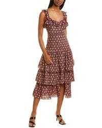 Likely Janie Midi Dress - Black