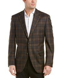 Peter Millar Wool Sport Coat - Brown