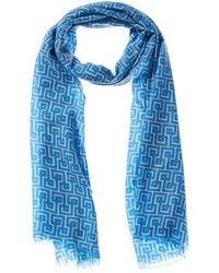 J.McLaughlin Reed Wool Scarf - Blue