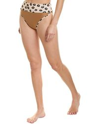 Beach Riot Emmy Bikini Bottom - Brown