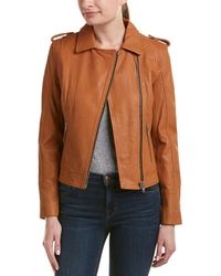 Doma Leather - Waxy Nappa Leather Jacket - Lyst