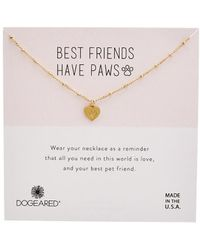 Dogeared - Reminder Collection 14k Over Silver Necklace - Lyst