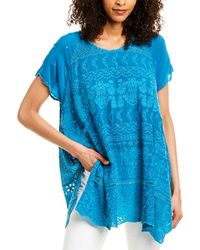 Johnny Was Sutera Tunic - Blue