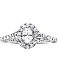 Diana M. Jewels . Fine Jewellery 14k 1.02 Ct. Tw. Diamond Ring - Metallic