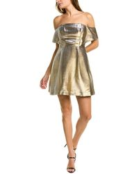 Sandro Palacia Mini Dress - Metallic