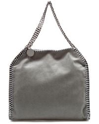 Stella McCartney Falabella Shaggy Deer Small Tote - Gray