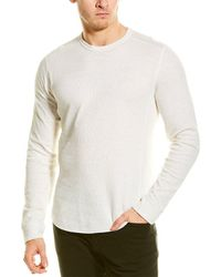 Vince Double Knit T-shirt - White