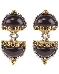 Konstantino 18k & Silver 0.24 Ct. Tw. Gemstone Earrings - Metallic
