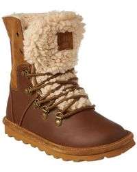 BEARPAW - Devin Never Wet Leather & Suede Fold Down Boot - Lyst