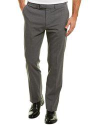 Theory Cody 2.uomo Wool-blend Pant - Grey