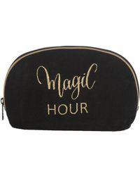 Shiraleah Large Montresor Make-up Bag - Black