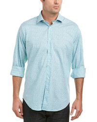 Thomas Dean Woven Shirt - Green