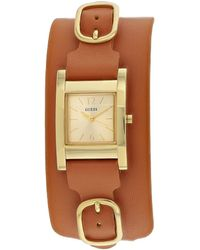 Guess Classic Watch - Brown
