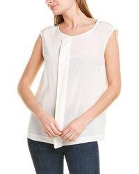 ESCADA Nunila Silk Top - White
