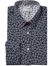 Duchamp Slim Fit Dress Shirt - Blue