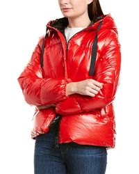 Add Down Jacket - Red