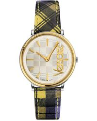 Versace Women's V Circle The Clans Edition Watch - Metallic