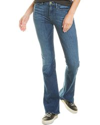 FRAME Denim Le High Bestia Blue Flare Leg Jean
