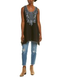 Johnny Was Maike Linen Tunic - Black