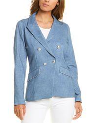 Marella Monille Jacket - Blue