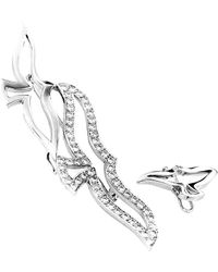 Cartier - Cartier 18k 2.50 Ct. Tw. Diamond Brooch - Lyst