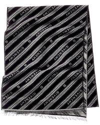 Givenchy Wool Scarf - Black
