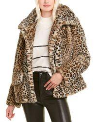 The Kooples Leopard Jacket - Brown