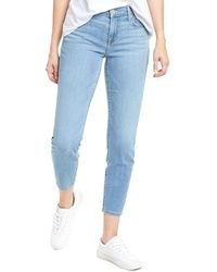 7 For All Mankind 7 For All Mankind Cosmo Cropped Skinny Jean - Blue
