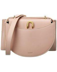 Yuzefi Edith Leather Shoulder Bag - Pink
