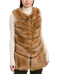 Karen Millen Gilet - Brown
