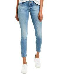 DL1961 Premium Denim Emma Goodyear Low-rise Instasculpt Skinny Leg Jean - Blue