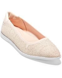 Cole Haan Zerogrand Knit Skimmer Flat - Multicolour